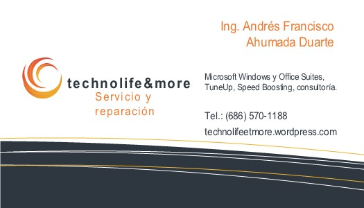 technolife&more Business Card